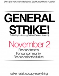 General Strike November 2nd 2011