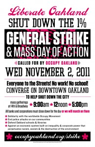General Strike Occupy Everything November 2 2011