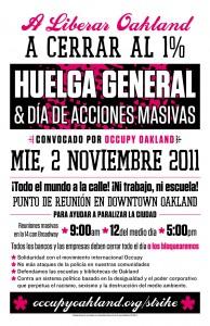 Huelga General 2 Noviembre 2011