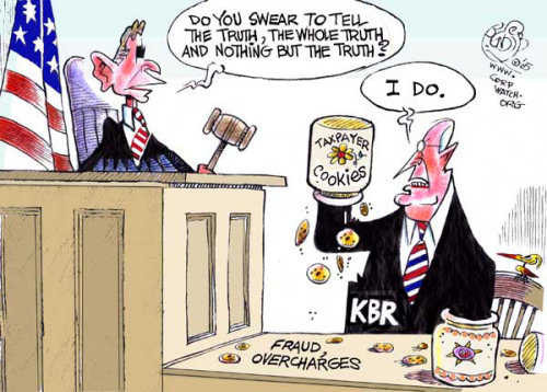 KBR: Kickbacks, Bribes, Ripoffs & War Racketeering