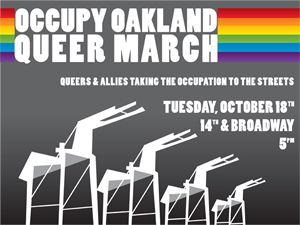 Occupy Oakland Queers & Allies March